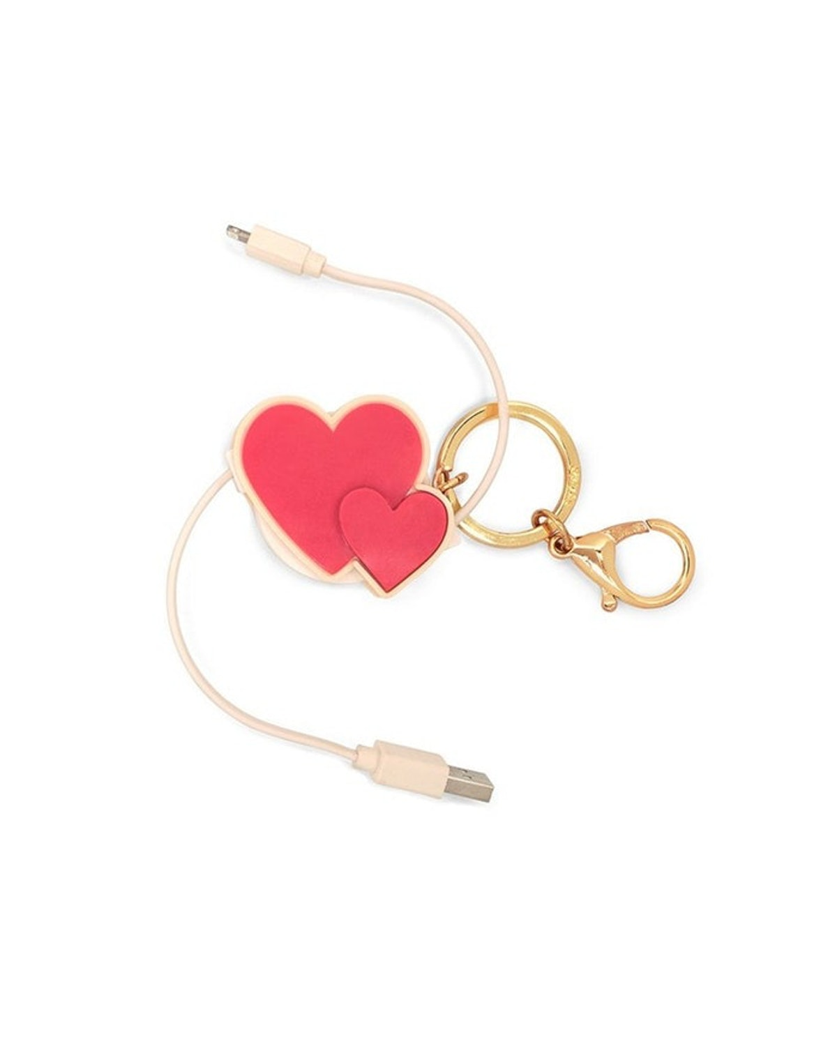 Retractable Charging Cord in Heart To Heart