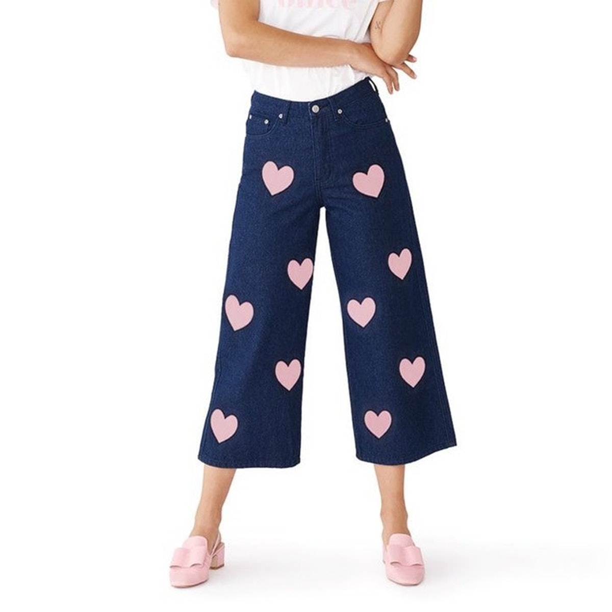 Lazy Oaf Heart Jeans