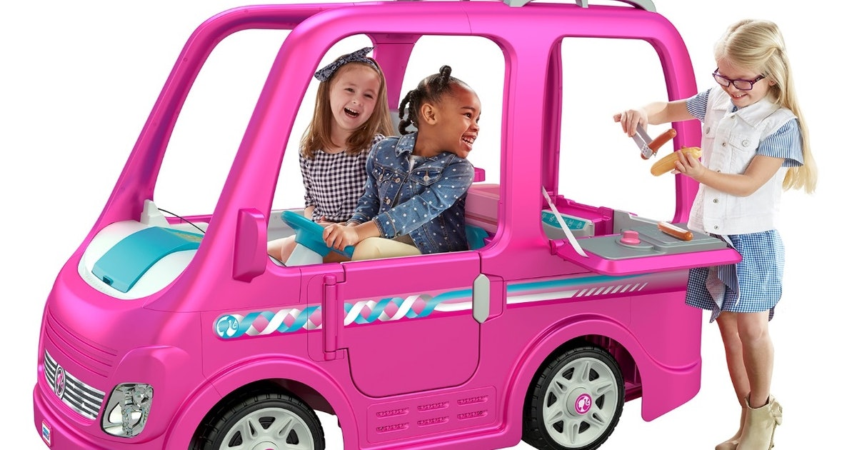 Fisher Price Recalls Barbie Campers Due To A Risk Of
