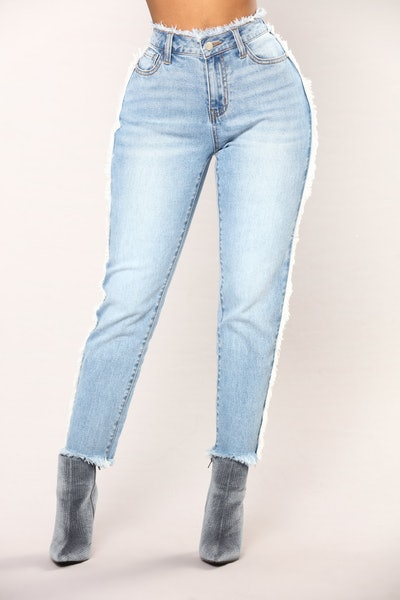 Let's Stay Together Boyfriend Jeans