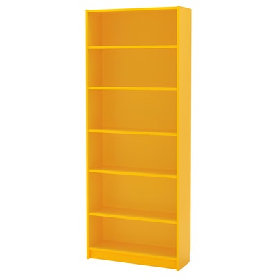 BILLY Bookcase, Yellow