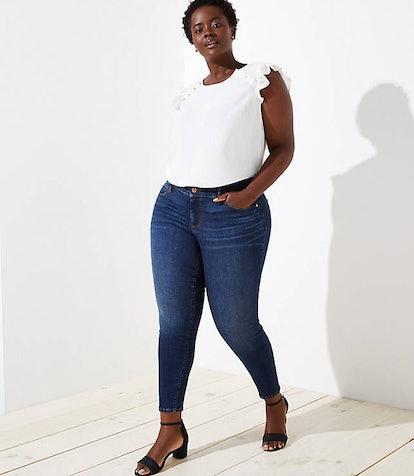 Plus Modern Slim Pocket Skinny Jeans