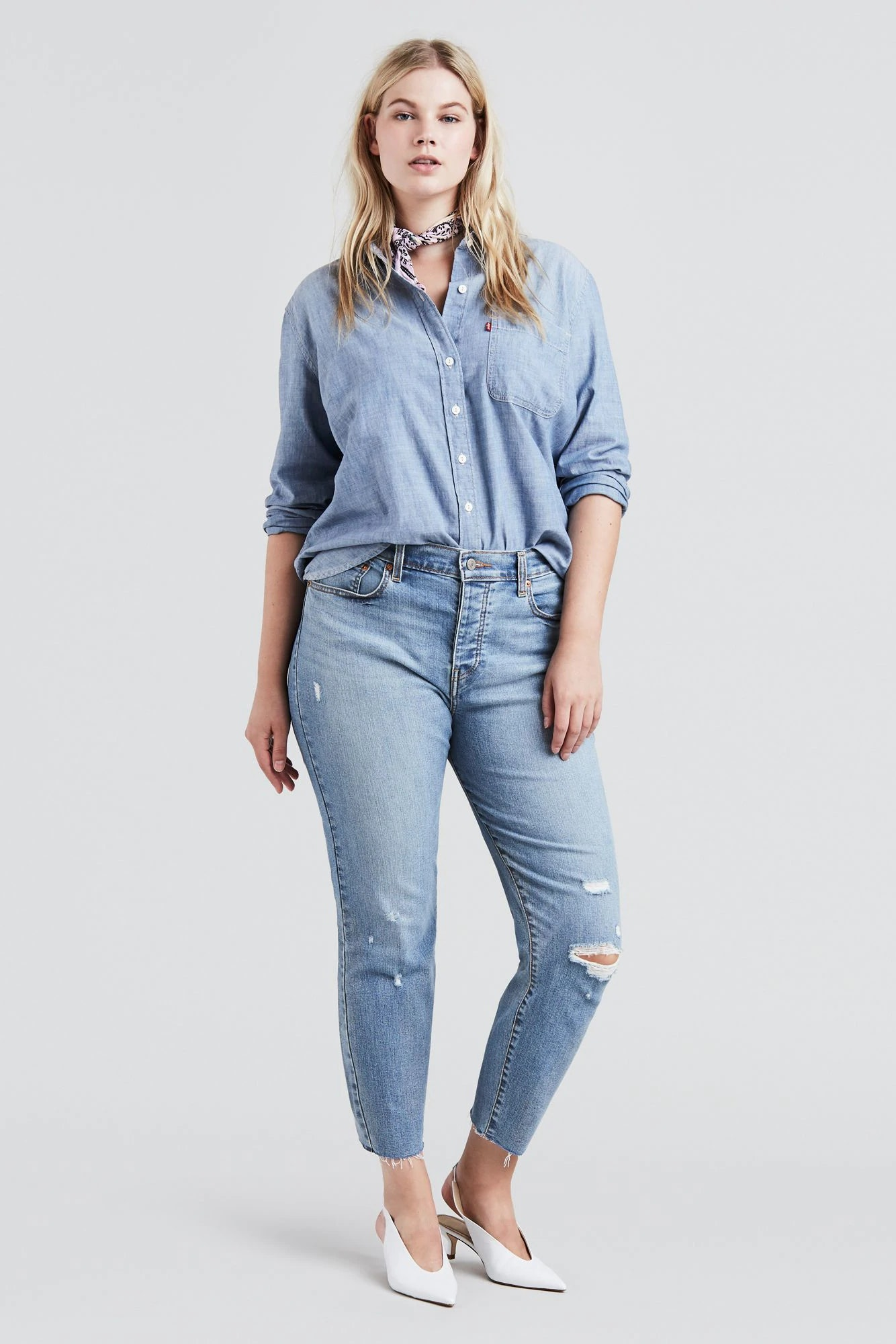 4f265b8789 The Best Plus-Size Jeans According To 8 Fashion Influencers