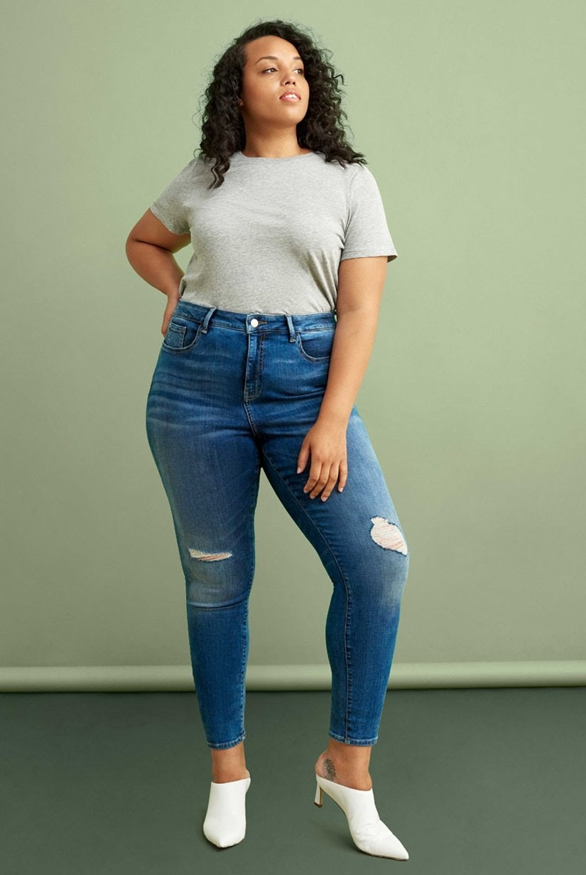 1d1687c0b3 The Best Plus-Size Jeans According To 8 Fashion Influencers