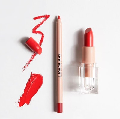 KKW Beauty Classic Red Lipstick and Lip Liner