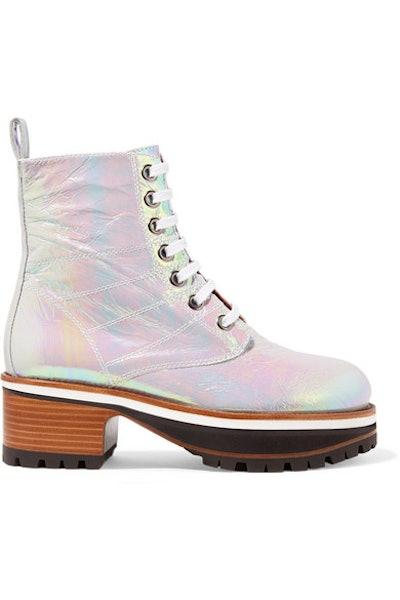 Jessa Lace-Up Boots