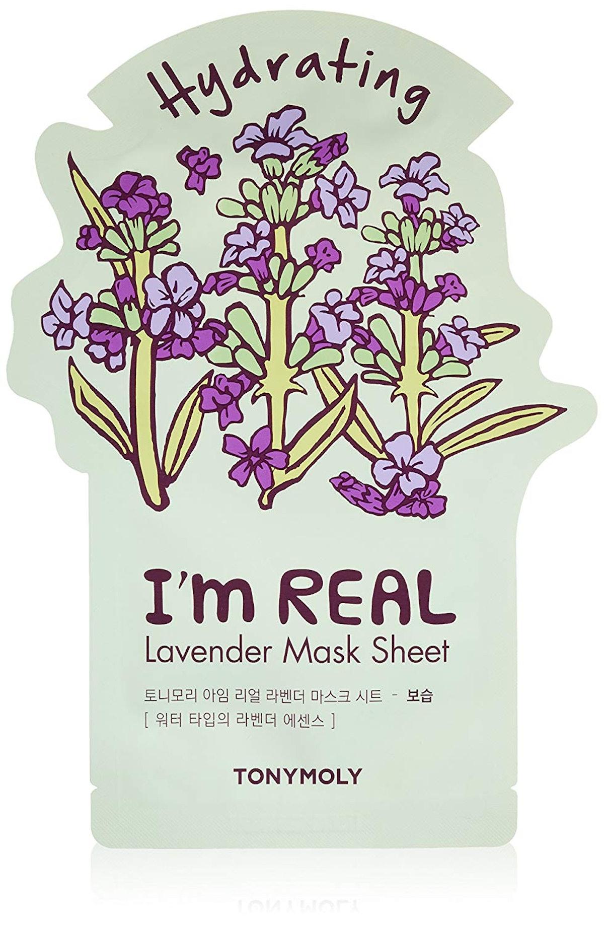 TonyMoly I'm Real Lavender Mask Sheet