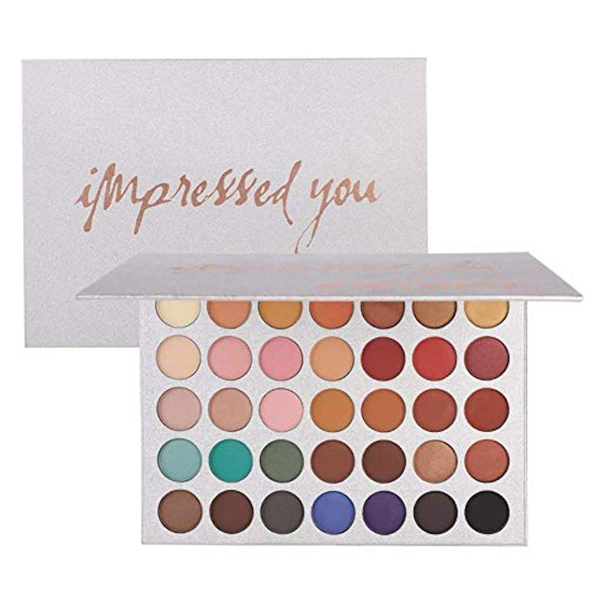 Beauty Glazed Pigmented Eyeshadow Palette