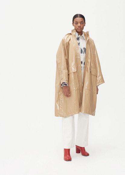 VIDEN Cearl Hooded Raincoat