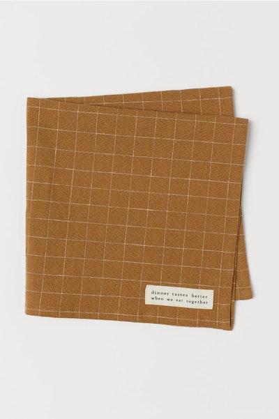 Linen-blend Napkin
