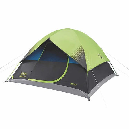Six Person Dark Room Fast Pitch Dome Tent