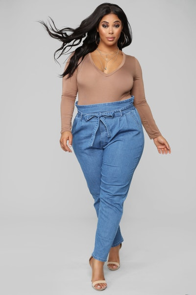 Main Thang Paperbag Waist Jeans