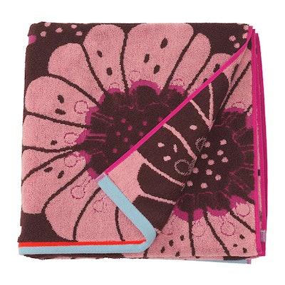 SANDVILAN Bath Towel, Pink, Multicolor