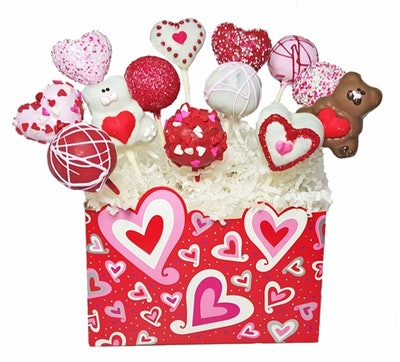 Cake Pops – Valentine's Day Bouquet Of 12