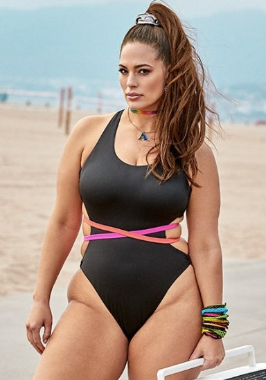 e264b98e68d What's In Ashley Graham's Resort 2019 Swimsuits For All Collection? It's An  Inclusive '90s Beach Dream