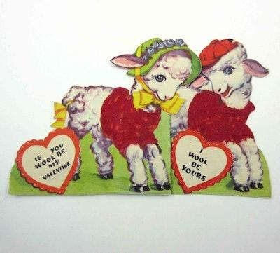 Vintage Children's Novelty Valentine Greeting Card