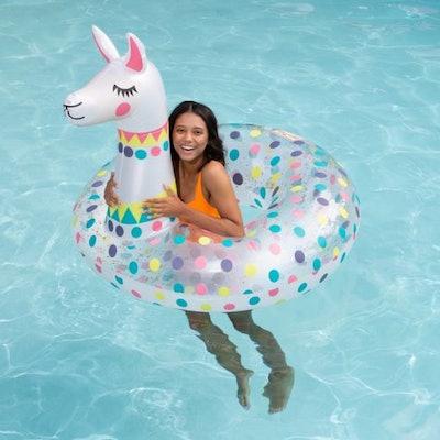 Llama Pool Float