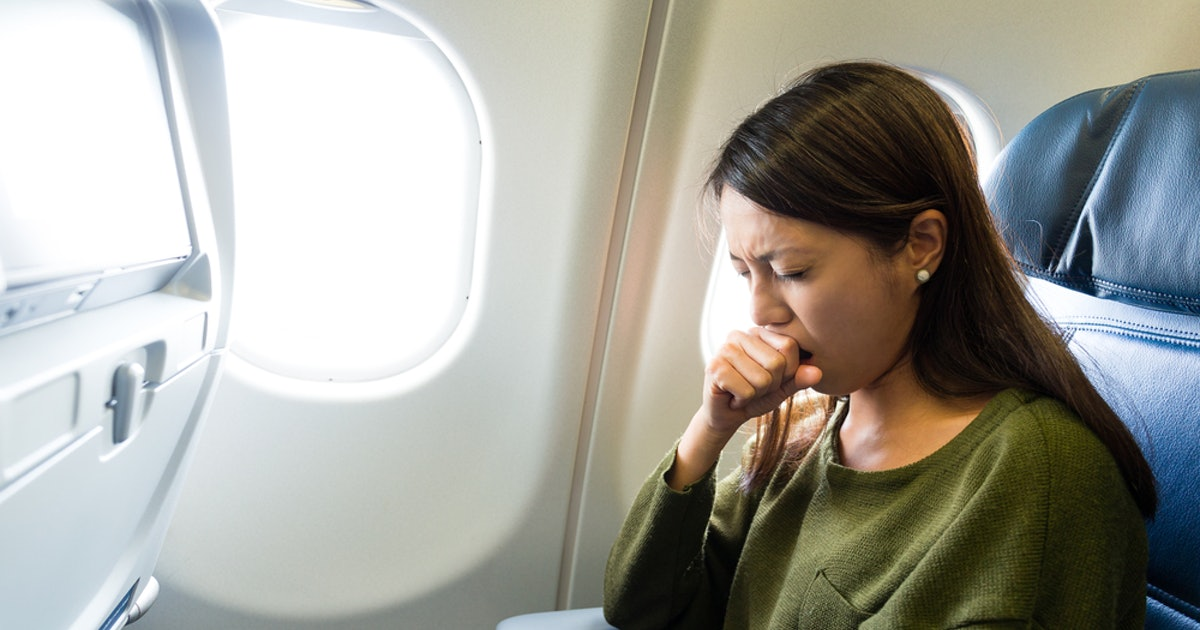 How To Not Get Sick On A Plane When You're Literally Surrounded By Germs