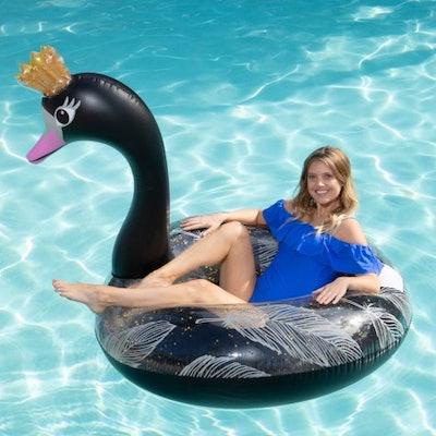 Black Swan Pool Float