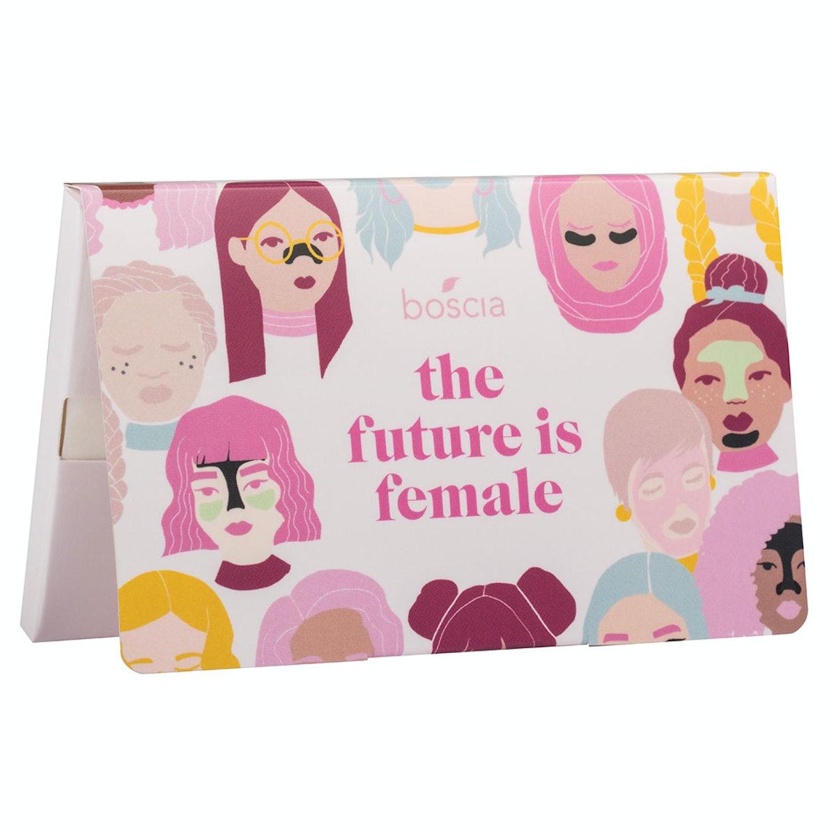 Boscia The Future is Female: Peppermint Blotting Linens
