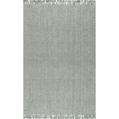 Caspian Hand-Woven Gray Area Rug