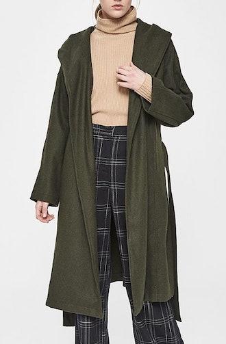 Julie Felt Wrap Coat