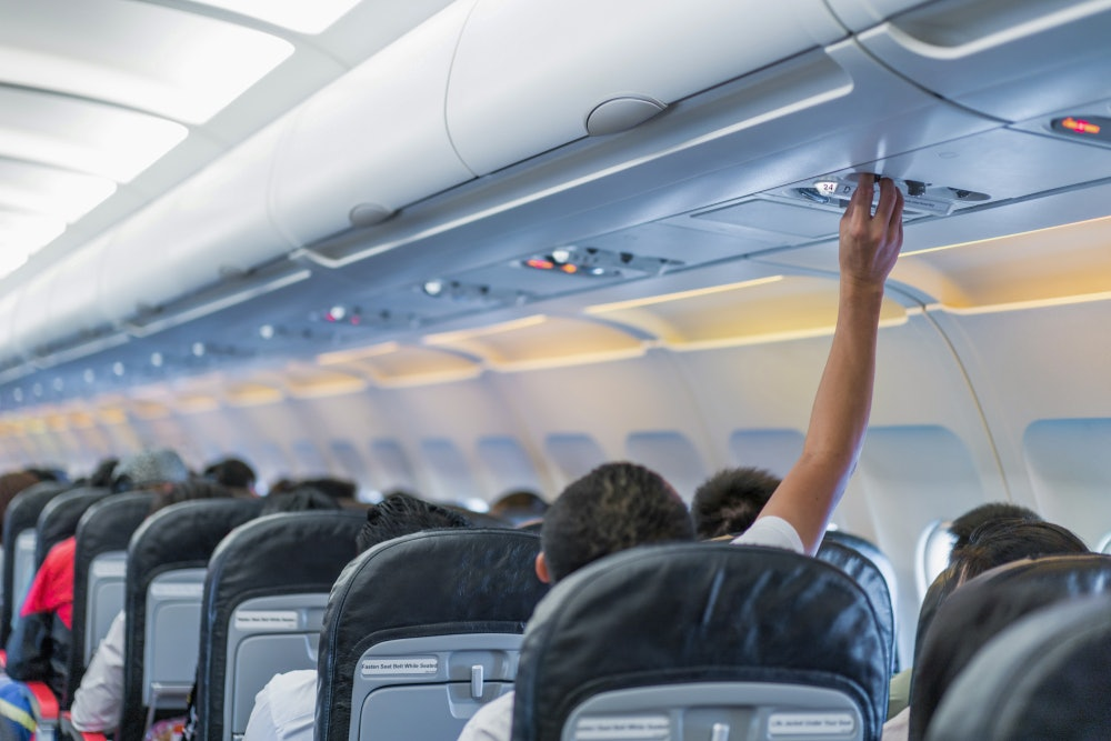 How To Not Get Sick On A Plane When You're Literally