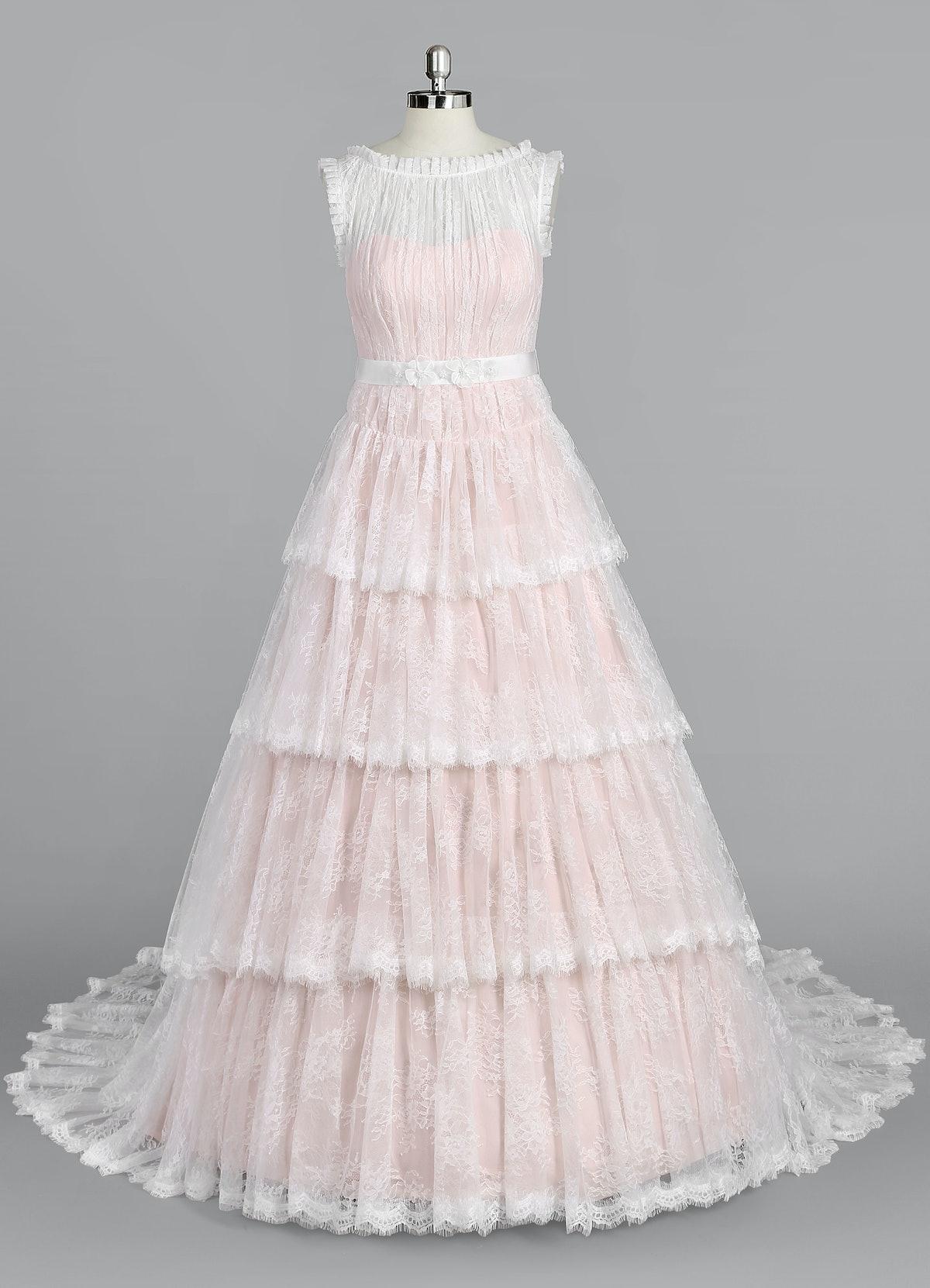 AZAZIE MORGAN BG Wedding Dress