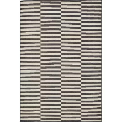Squire Black Area Rug