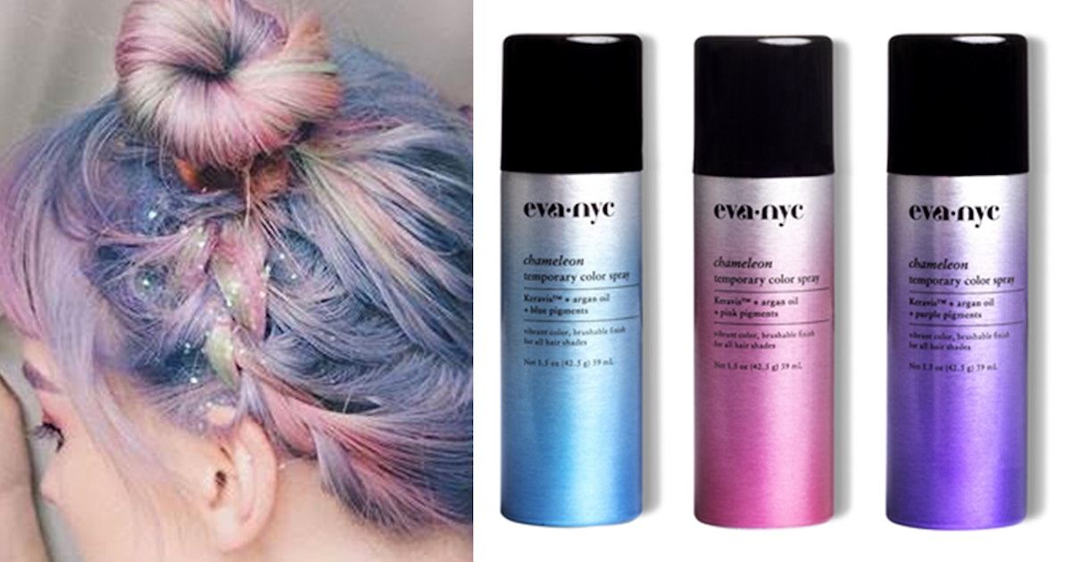 Eva NYC\'s New Chameleon Color Sprays Will Easily Give You The Pastel ...