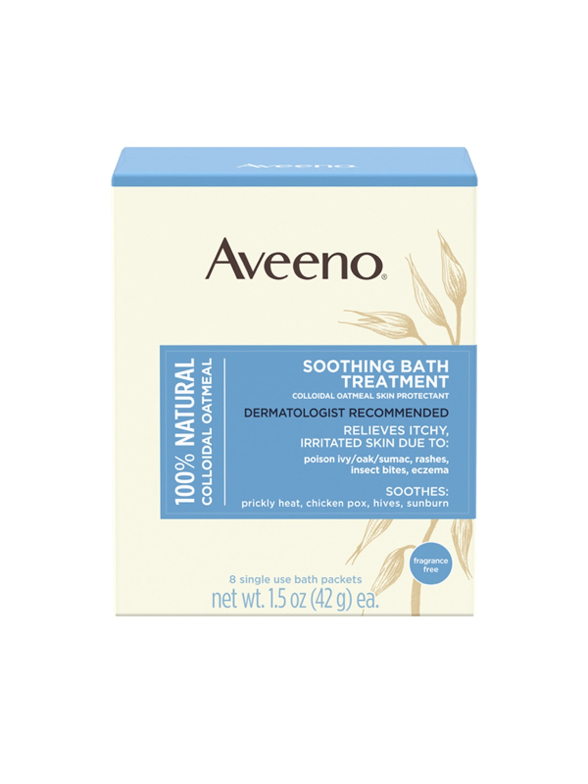 Soothing Bath Treatment With Natural Colloidal Oatmeal