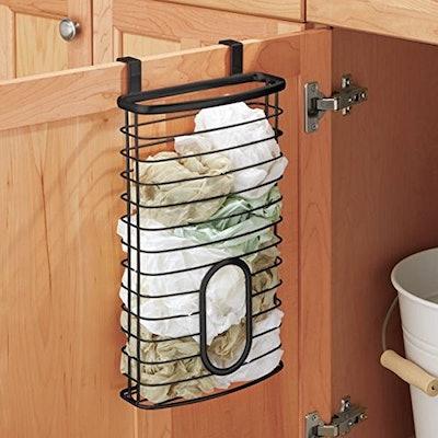 mDesign Plastic Bag Storage Organizer