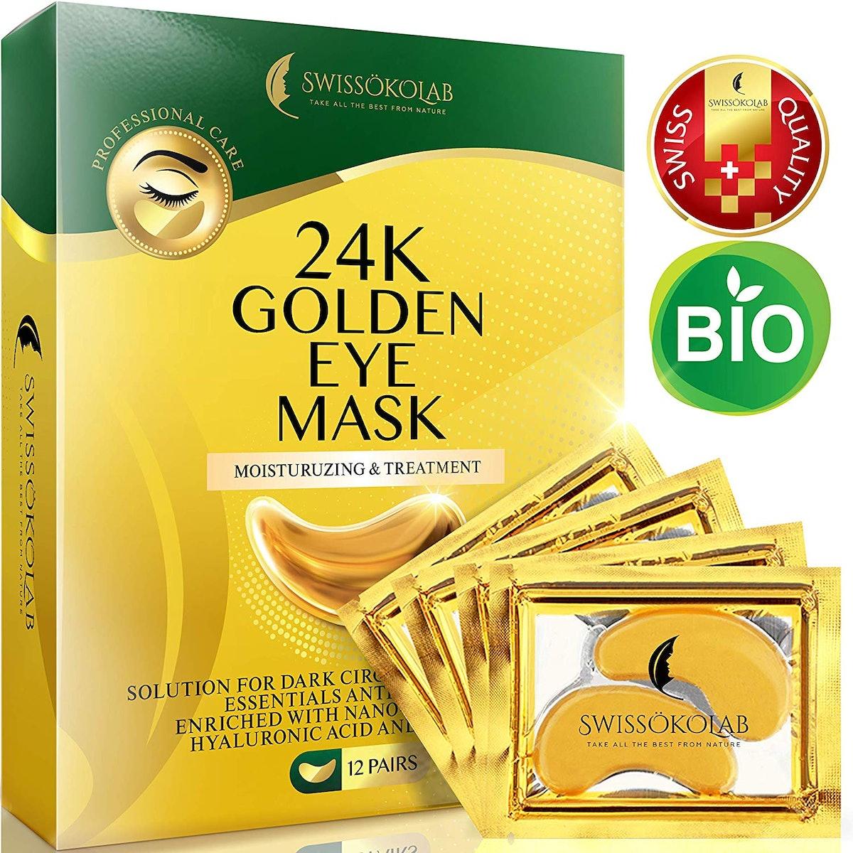 Swissoko Lab 24K Golden Eye Mask