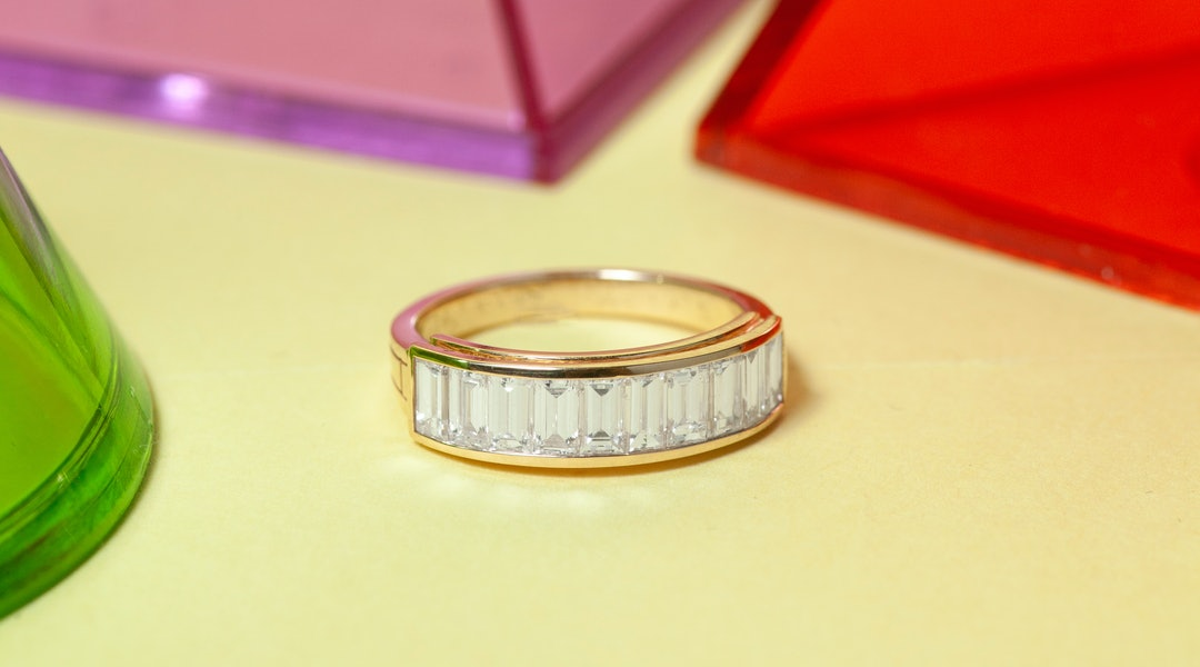 405e1cb45 Baguette Engagement Bands Are The Latest Ring Trend To Try