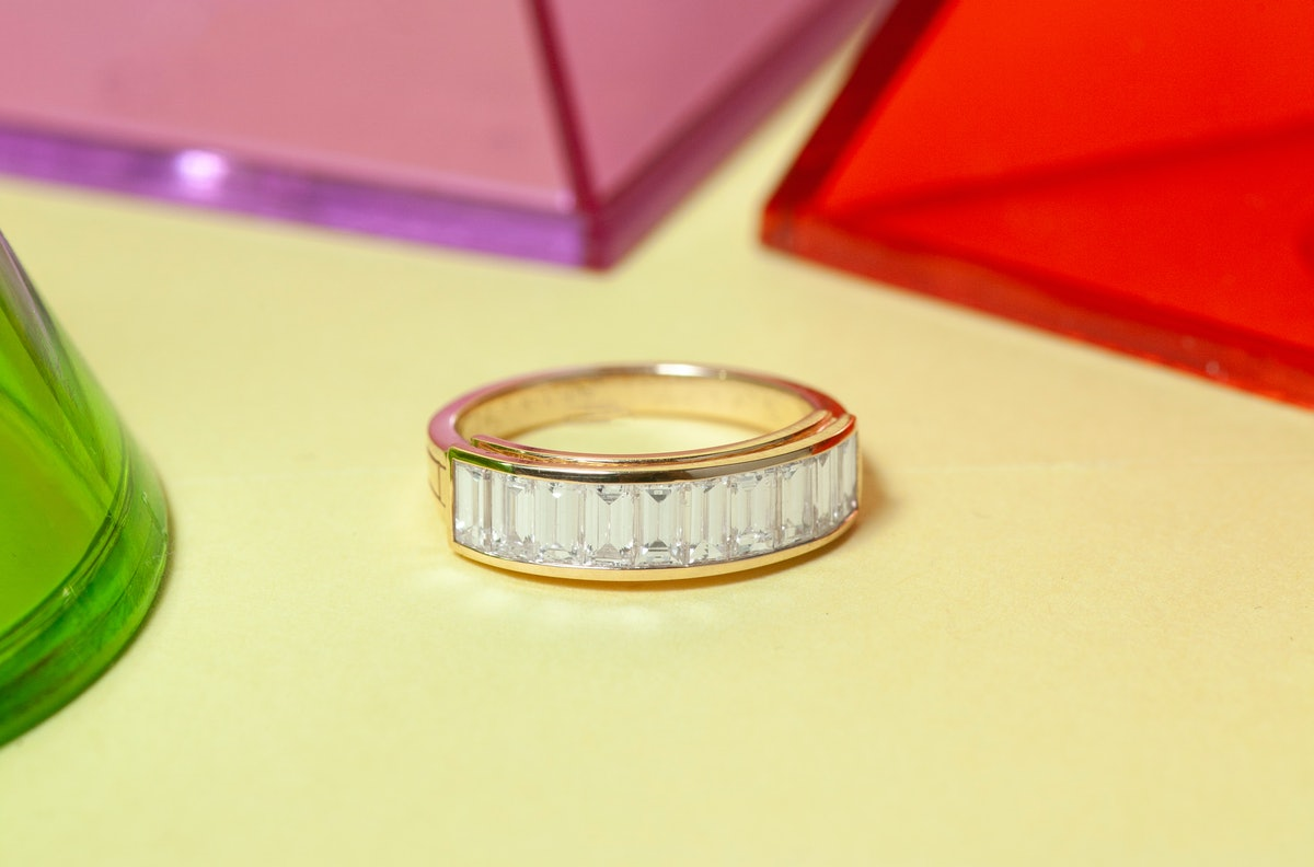Baguette Engagement Bands Are The Latest Ring Trend To Try