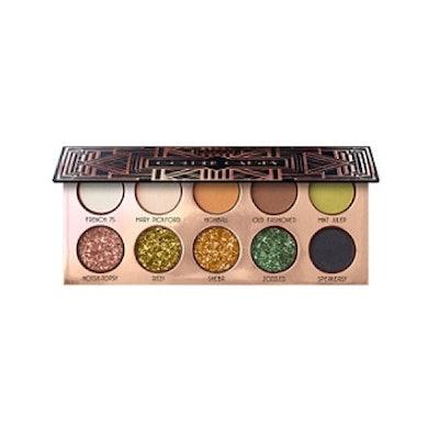 LASplash Cosmetics Online Only Golden Gatsby Eyeshadow Palette