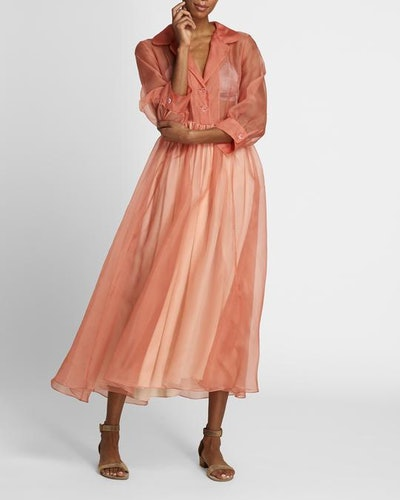The Grace Dress in Coral