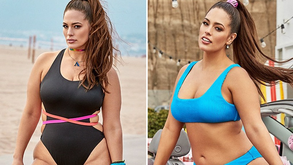 99de5dcdb Ashley Graham's Swimsuits For All 2019 Collection Will Have You Dreaming Of  Summer So Hard
