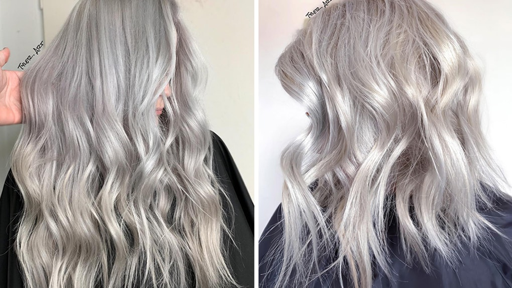 These Photos Of Silver Hair Are The Inspo You\'ll Want To Take To The ...