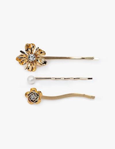 Floral Trio Hair Pin