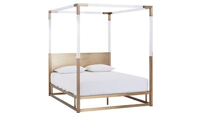 Acrylic Canopy Bed King