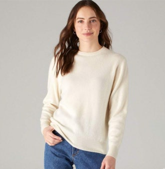The Women's Essential $75 Sweater White