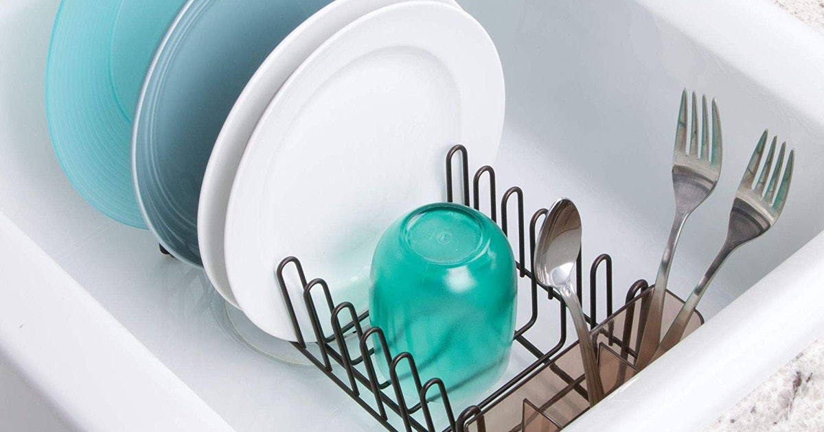 Tiny Kitchens Be Damned: These Are The Best Dish Drying Racks For Small Spaces