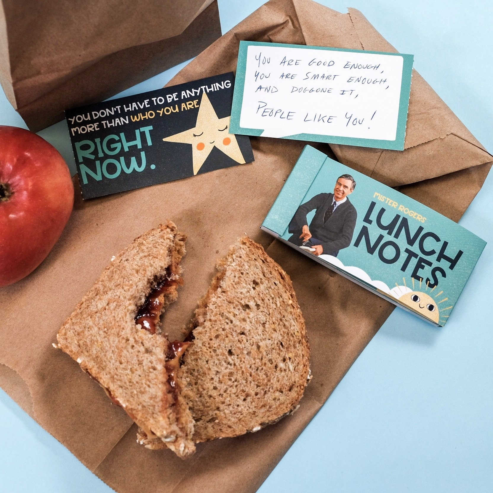 Mister Rogers Encouragement Lunch Notes Are The Perfect Way To Remind People That Doggone It You Like Them