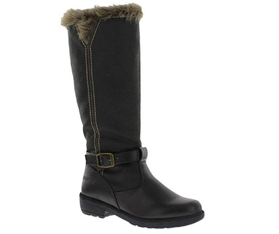 Totes Womens Esther Side Zipper Cold Weather Boot