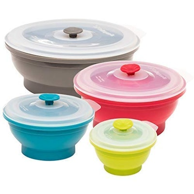 Collapse-it Silicone Food Storage Containers (Set Of 4)