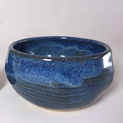 Blue Shaving Bowl