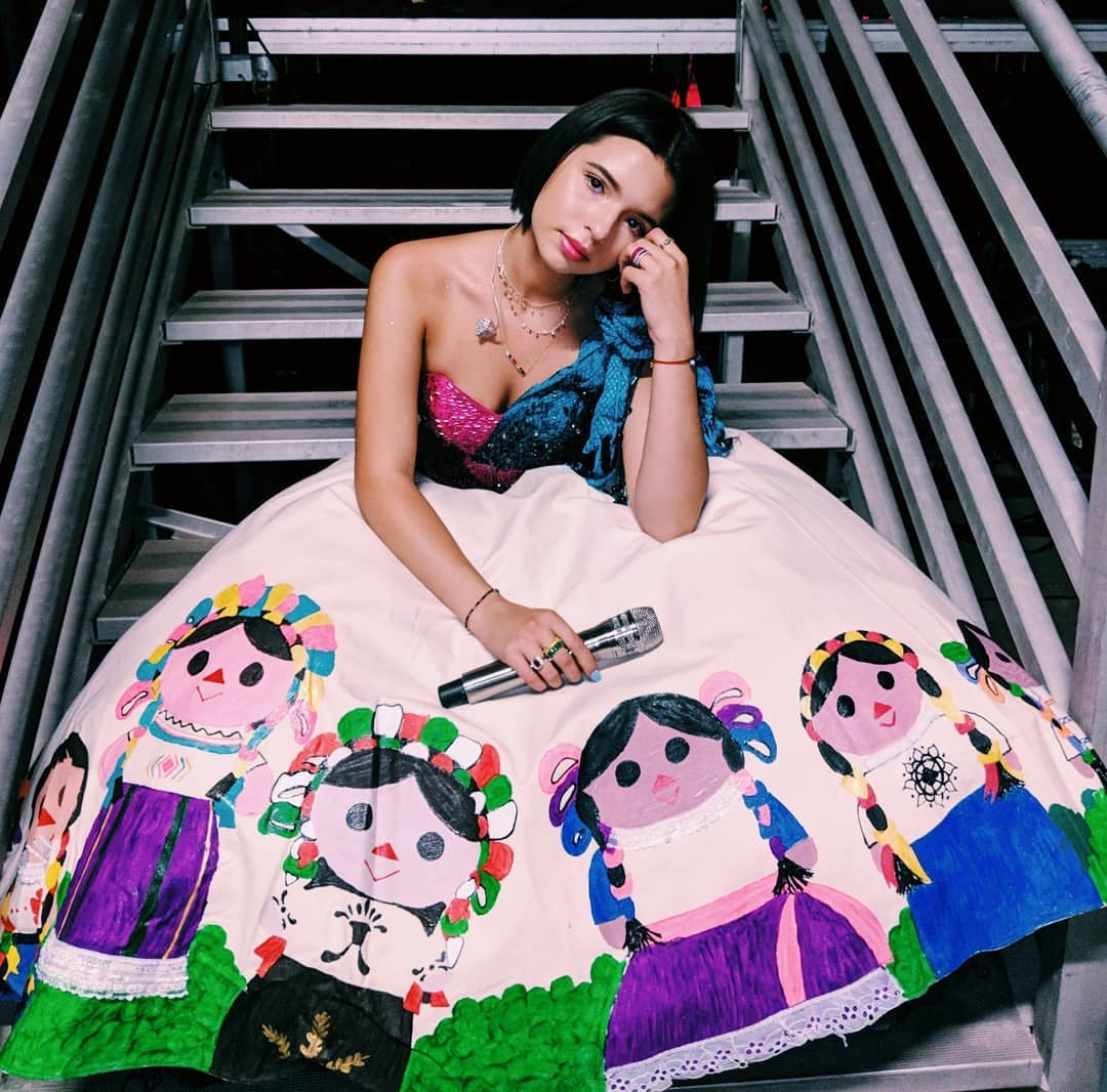 For Grammy Nominated Singer ángela Aguilar Being Mexican American