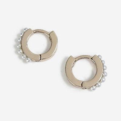 Pearl Hing Earrings