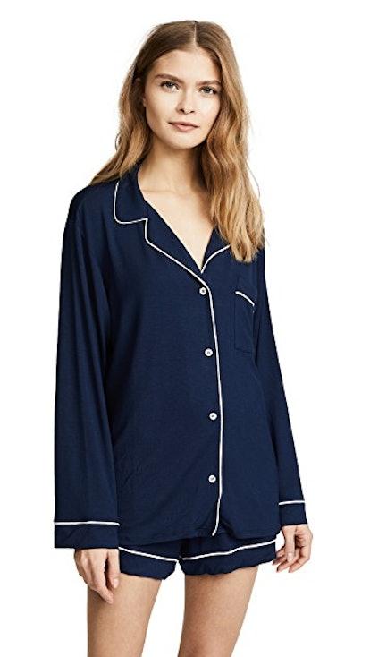 Eberjey Gisele Long Sleeve Pajama Set
